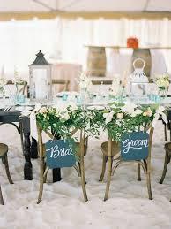 Beach Wedding Sweetheart Table