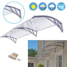 40'' X 80'' Outdoor Polycarbonate Front Door Window Awning Patio ... Awning Canopy Out Garden Pinterest Plastic Polycarbonate Block Rain Sun Window Door Wind Resistance Sheet Doors Full Image For Awnings Compare Prices At Nextag 80x40 Outdoor Patio Shade Shelter Fittings Diy Dsp1x300cmhome Use Entrance Canopyeasy To Install Awnings Windows The Home Depot Shades Uv Protection Advaning Pa Series Doorwindow Installation Cheap Front Door Strong And Durable Metal Frame Canopy