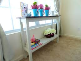 Narrow Sofa Table Diy by Bathroom Captivating Worlds Away Skinny Console Clear Glass
