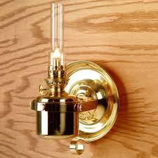 Aladdin Lamp Oil Shelf Life by Den Haan Gimbaled Berth Oil Lamp Table Lamps Lehman U0027s