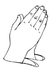 Full Image For Children Praying Hands Clipart Child20praying20hands Helping Coloring Page