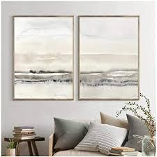 mxmama beige und grau leinwand malerei abstrakte aquarell