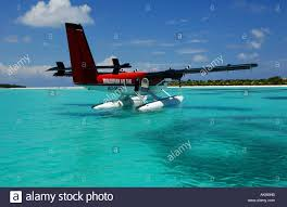 100 Kanuhura Maldives Resort Seaplane Waiting In Front Of The One And Only