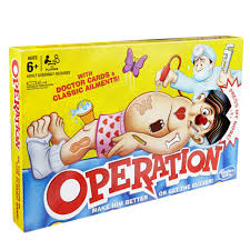 Operation Classic Childrens Family Game Hasbro New