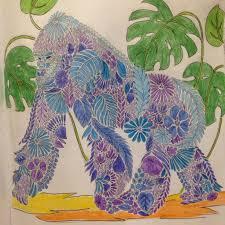 Animal Kingdom Gorilla Coloring BooksAdult ColoringColouringJohanna BasfordAnimal KingdomColored