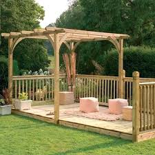Full Image For Decking On Patios And Terraces Shelterness Stylish Wooden Patio Designs Nice