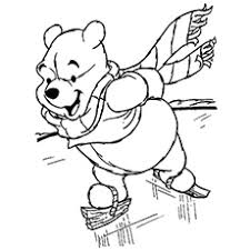 Winnie In January Coloring Page