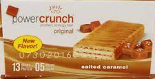 Power Crunch Original Salted Caramel Protein Energy Bars 14 Oz 5 Count