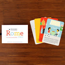 ZigZag Childrens City Travel Guide Rome