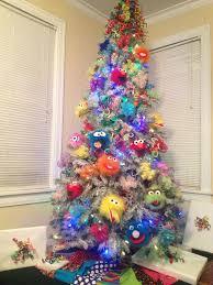 Raz Christmas Trees 2011 by Sesame Street Themed Tree Christmas Trees Children Pinterest