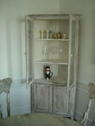 Shabby Chic Dining Room Hutch by Corner China Cabinet Or Corner Hutch For The Dining Room Corner