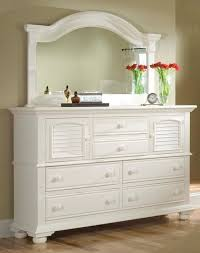 Saunders Shoal Creek Dresser by Antiqued White Standard Chest Espresso Tall 2 Drawer Night Stand