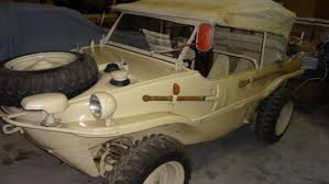 WWII And Amphibious Car Collectors Take Note: 1944 VW Schwimmwagen ...