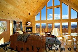 Pegion Forge Cabin Rentals Grizzly Manor Luxury Pigeon Forge Cabin
