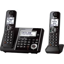 Panasonic Cordless Phone And Answering Machine With 2 KX-TGF342B Panasonic Cordless Phone Plus 2 Handsets Kxtg8033 Officeworks Telephone Magic Inc Opening Hours 6143 Main St Niagara Falls On Kxtg2513et Dect Trio Digital Amazonco Voip Phones Polycom Desktop Conference Kxtg9542b Link2cell Bluetooth Enabled 2line With How To Leave And Retrieve Msages On Your Or Kxtgp500 Voip Ringcentral Setup Voipdistri Shop Sip Kxut670 Amazoncom Kxtpa50 Handset 6824 Quad 3line Pbx Buy Ligo Systems