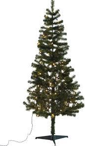 Black Fibre Optic Christmas Tree 7ft by 6ft Slim Christmas Tree Black Christmas Tree Slim Tree