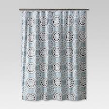Medallion Shower Curtain Threshold™ Tar