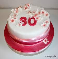 rezept rosa geburtstagstorte zum 30 das süße leben