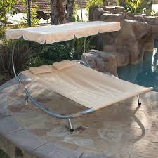 NEW Hammock Bed Lounger Double Chair Pool Chaise