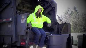 Girls On A Trash Truck - YouTube