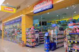 100 Warehouse In Melbourne Australia January 1 2016 Chemist Shop