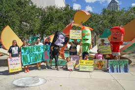 Coconut Grove Halloween 2013 by Diverse Concerns Halloween Costumes Highlight Miami Climate Rally