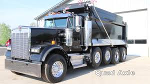2005 Kenworth W900 Dump Truck | 131 Truck Sales - YouTube