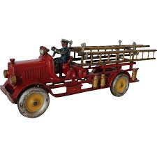 Large Hubley Late 1920's Fire Engine Ladder Truck | Antique ... Kamalife Red Ladder Truck 1 Pc Alloy Toy Car Simulation Large Blockworks Fire Truck Set Save 23 Buy 16 With Expandable Engine Bump Dickie Toys Action Brigade Vehicle Shop Your Way 9 Fantastic Trucks For Junior Firefighters And Flaming Fun 2019 Children Big Model Inertia Kids Wooden Fniture Table Chair Online In Tonka Mighty Motorized Walmartcom 1pcs Amazoncom Bruder Man Games Carville Fire Truck Carville At Toysrus