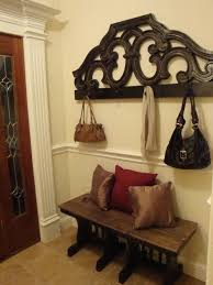 Bed Headboard Turned Coat Rack From Be Different Act Normal