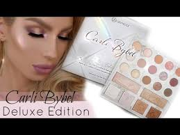 Youtube Carli Bybel Halloween by Carli Bybel Deluxe Palette Review Daytime Spring Glam Youtube