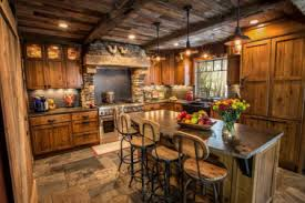 15 Rustic Style Kitchen Design Idea