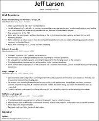 ResumeAssociate Resume Examples Sample Clerk Functional Example Skills Fashion Associ Sales Job Walmart Floor