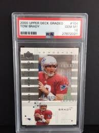 Upper Deck Westbrook Ct Accident by Upper Deck Football Cards Signed Card