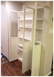 Pantry Cabinet Ikea Hack by Ikea Pantry Hack Kitchen Pantry Using Ikea Billy Bookcase