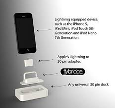 Amazon 30pin to Lightning Adapter for Old Apple Docks and