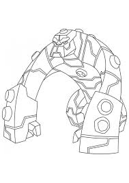 Ben 10 Ultimate Alien X Colouring Pages Page 3 Coloring Home