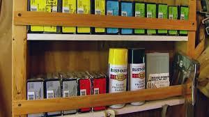 diy workshop or garage storage shelves today u0027s homeowner