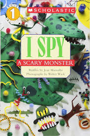 Scary Halloween Riddles And Answers by Amazon Com Scholastic Reader Level 1 I Spy A Scary Monster