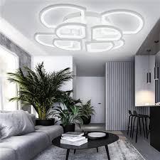 dimmbar modern design led deckenleuchten deckenle wohnzimmer ac110 220v 1280led 120w