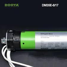 dooya smart home 35mm diameter electronic tubular motor for