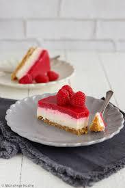 himbeer no bake cheesecake