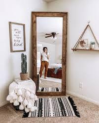 spiegel houten spiegel length spiegel slaapkamer de