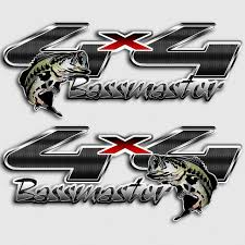 100 Ford Stickers For Trucks 4x4 Bassmaster Fishing Truck Decals