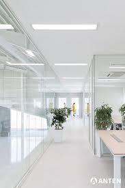 modernes led panel für das büro deckenle weiß
