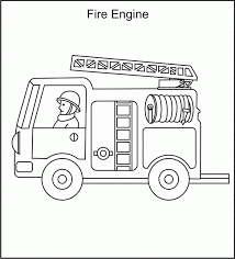 Free Printable Fire Truck Coloring Pages For Kids Pertaining To