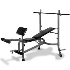 Powertrain Home Gym Workout Bench Press With Weights
