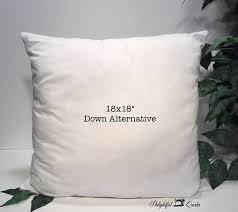 Pillow Form Pillow Insert 18x18 Pillow Insert