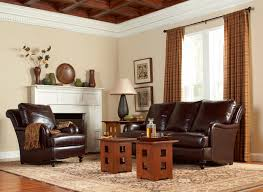 Stickley Furniture Leather Colors by Stickley Leather Collection Traditional Living Room New York