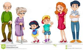 Grandparents Stock Illustrations – 5 101 Grandparents Stock