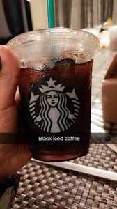 Starbucks Coffee Black Iced And Smores Cheesecake